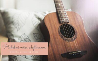 Hudební večer s kytarama